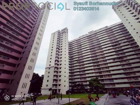 Apartment For Sale in Bandar Tasik Selatan Flat, Bandar Tasik Selatan Leasehold Unfurnished 3R/1B 210k