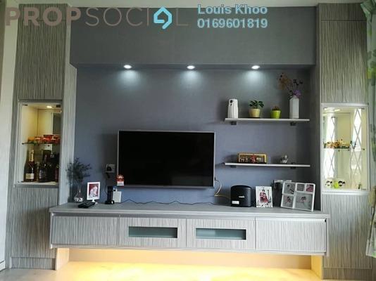 Condominium For Sale in Le Jardine, Pandan Indah Freehold Semi Furnished 3R/2B 395k