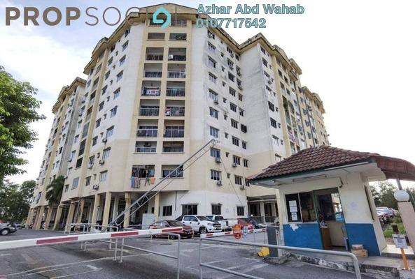 Apartment For Sale in Kenangan View Apartment, Kajang Freehold Unfurnished 3R/3B 300k