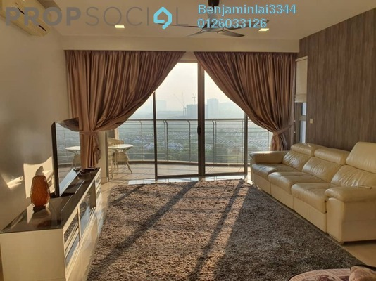 Condominium For Rent in The Westside Two, Desa ParkCity Freehold Fully Furnished 3R/3B 4k