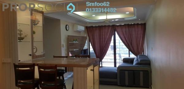 Condominium For Rent in Rivercity, Sentul Freehold semi_furnished 3R/2B 2k