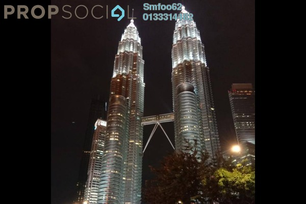 Office For Sale in Plaza 138, KLCC Freehold semi_furnished 0R/0B 650k