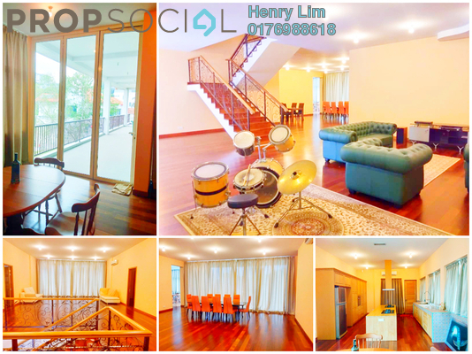 Bungalow For Rent in Seputeh Heights, Seputeh Freehold fully_furnished 6R/7B 20k
