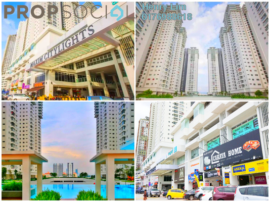 Serviced Residence For Rent in Maxim Citilights, Sentul Freehold semi_furnished 3R/2B 1.2k