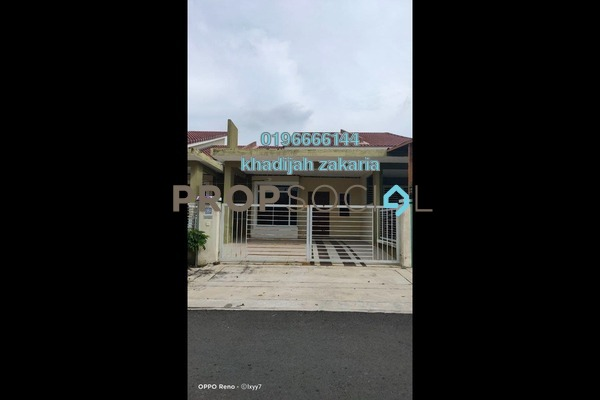 Terrace For Sale in Taman Nusari Aman, Bandar Sri Sendayan Freehold Semi Furnished 3R/2B 315k
