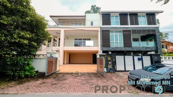 Semi-Detached For Sale in Ukay Heights, Ukay Freehold Unfurnished 4R/5B 1.8m