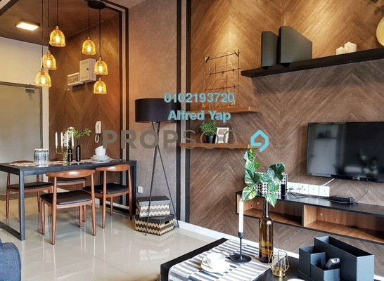 Condominium For Rent in Suria Residence, Bukit Jelutong Freehold Fully Furnished 2R/1B 1.9k