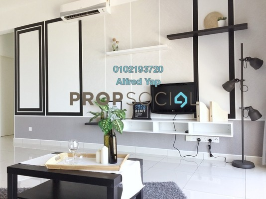 Condominium For Rent in The Clio Residences, IOI Resort City Freehold Fully Furnished 3R/2B 3.2k