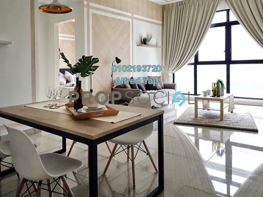 Condominium For Rent in Conezión, IOI Resort City Freehold Fully Furnished 3R/2B 2.9k