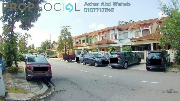Terrace For Sale in Setia Impian, Setia Alam Freehold Unfurnished 4R/3B 550k