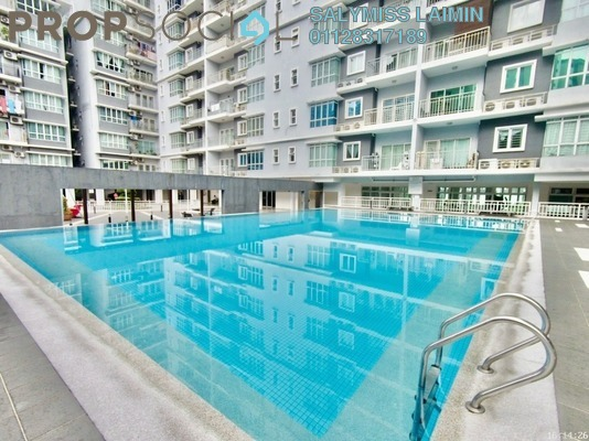 Condominium For Sale in Rosvilla, Segambut Freehold Fully Furnished 3R/2B 510k