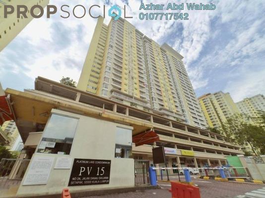 Condominium For Sale in Platinum Lake PV15, Setapak Freehold Semi Furnished 3R/2B 595k