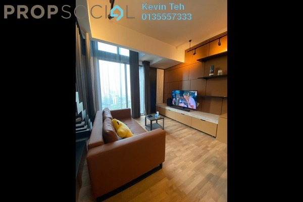 Condominium For Rent in TWY Mont Kiara, Mont Kiara Freehold fully_furnished 1R/1B 2.8k