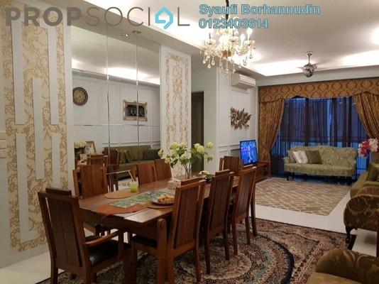Condominium For Sale in 100 Residency, Setapak Freehold Unfurnished 4R/3B 850k