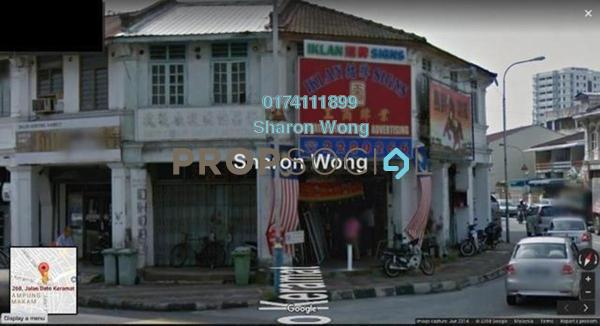 Shop For Sale in Jalan Dato Keramat, Georgetown Freehold Unfurnished 0R/1B 989k