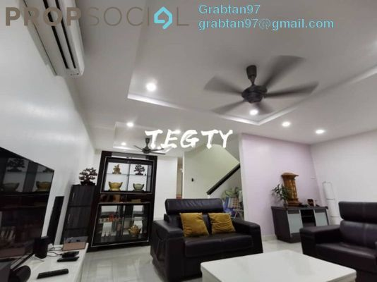 Terrace For Sale in Greenpark, Old Klang Road Freehold Semi Furnished 4R/4B 730k