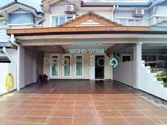 Terrace For Sale in Prima Saujana, Kajang Freehold Semi Furnished 4R/3B 570k