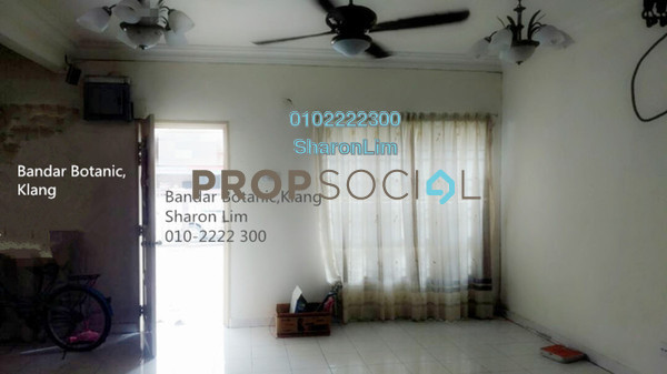 Terrace For Rent in Bandar Botanic, Klang Freehold Semi Furnished 4R/3B 1.3k
