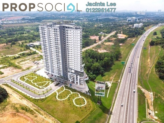 Serviced Residence For Sale in Centra Residences @ Nasa City, Johor Bahru Freehold Semi Furnished 3R/2B 348k