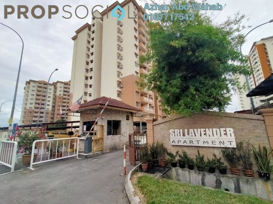 Apartment For Sale in Sri Lavender Apartment, Kajang Freehold Unfurnished 3R/2B 260k