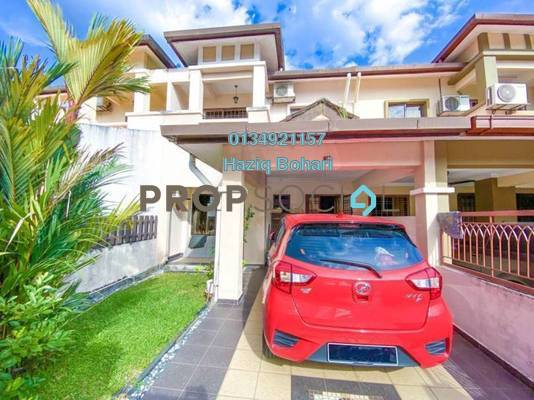 Terrace For Sale in Taman Nusa Subang, Subang Freehold Semi Furnished 4R/3B 640k