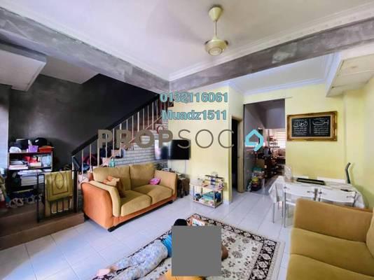 Terrace For Sale in PU8, Bandar Puchong Utama Freehold Semi Furnished 4R/3B 470k
