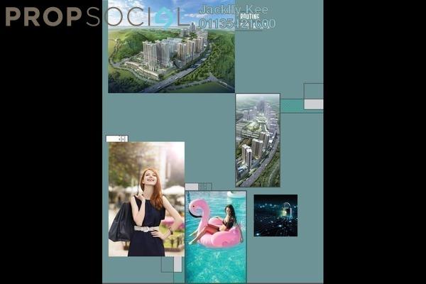 Condominium For Sale in Cerrado, Southville City Freehold semi_furnished 2R/1B 350k