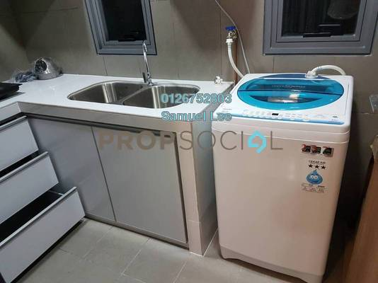 Condominium For Rent in The Fennel, Sentul Freehold semi_furnished 3R/3B 2.9k