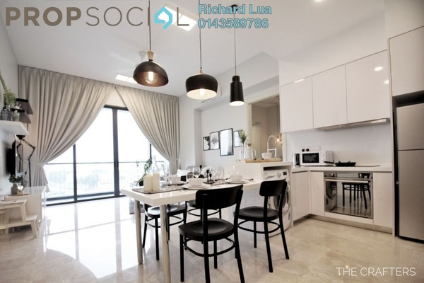 Serviced Residence For Rent in Vogue Suites One @ KL Eco City, Mid Valley City Freehold Fully Furnished 2R/1B 3k
