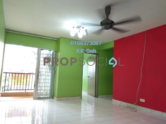 Apartment For Sale in Jati Selatan Apartment, Desa Petaling Freehold Unfurnished 3R/2B 265k