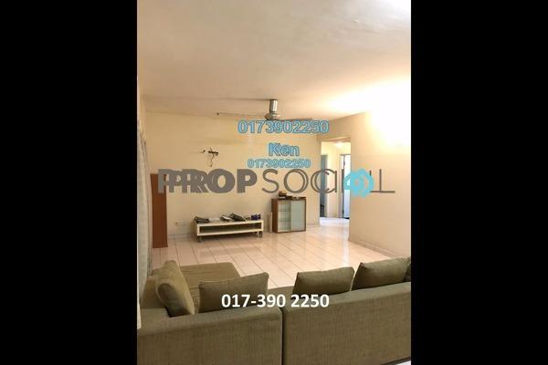 Condominium For Sale in Prima Ria, Dutamas Freehold Semi Furnished 3R/2B 525k