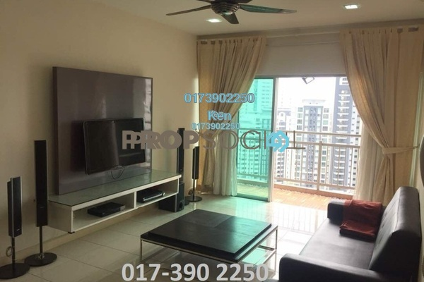 Condominium For Rent in Metropolitan Square, Damansara Perdana Freehold Semi Furnished 3R/2B 2.5k
