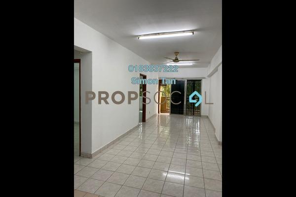 Apartment For Sale in Pelangi Damansara, Bandar Utama Freehold semi_furnished 3R/2B 280k