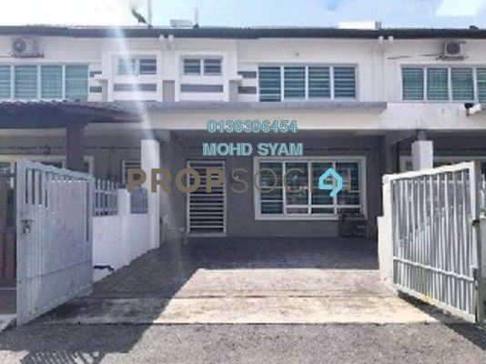 Terrace For Sale in Hillpark 2, Semenyih Freehold Semi Furnished 4R/3B 480k