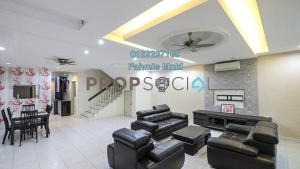 Terrace For Sale in Taman Suria Tropika, Bandar Putra Permai Freehold Semi Furnished 4R/3B 660k