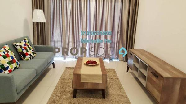 Condominium For Rent in Teega, Puteri Harbour Freehold Fully Furnished 0R/1B 1k