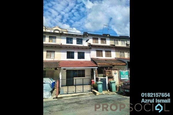Terrace For Sale in Desa Setapak, Setapak Freehold Semi Furnished 3R/2B 430k