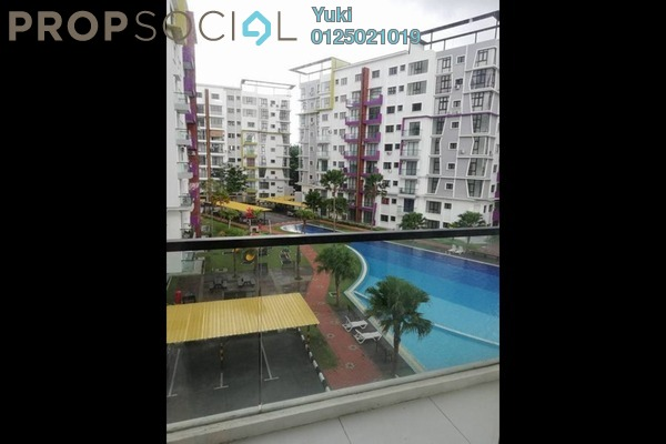 Condominium For Rent in Treetops Residency, Ipoh Freehold Semi Furnished 3R/2B 1.4k