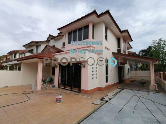 Terrace For Rent in Setia Eco Park, Setia Alam Freehold Semi Furnished 4R/3B 1.5k