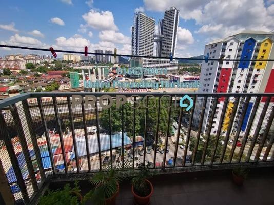 Condominium For Sale in Suria Jelatek Residence, Ampang Hilir Freehold semi_furnished 3R/2B 530k
