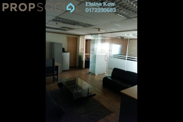 Office For Sale in Plaza 138, KLCC Freehold semi_furnished 0R/0B 560k