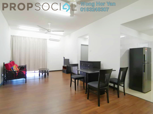 Serviced Residence For Rent in Silk Sky, Balakong Freehold Fully Furnished 3R/2B 1.5k