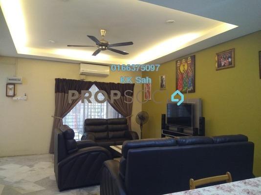 Terrace For Sale in Section 8, Bandar Mahkota Cheras Freehold Semi Furnished 4R/3B 548k