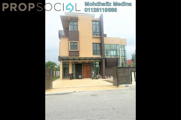 Bungalow For Sale in Section 7, Shah Alam Freehold semi_furnished 7R/8B 3.5m
