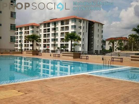 Apartment For Sale in Residensi Warnasari, Puncak Alam Freehold semi_furnished 2R/2B 300k