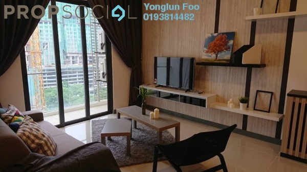 Serviced Residence For Rent in South View, Bangsar South Freehold fully_furnished 3R/2B 3.5k
