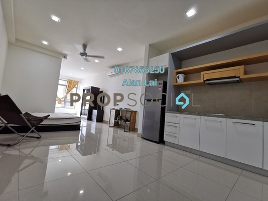 Serviced Residence For Sale in Shaftsbury Square, Cyberjaya Freehold Fully Furnished 1R/1B 233k