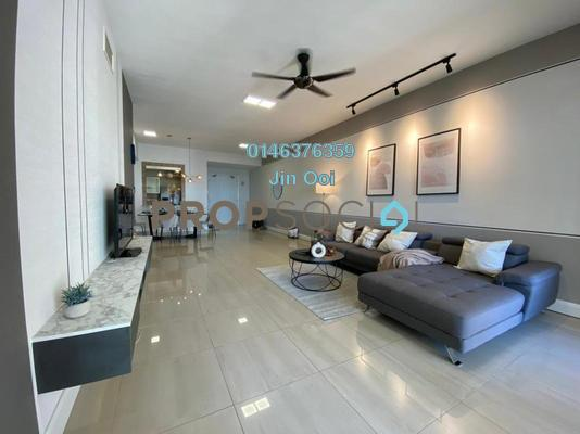 Condominium For Sale in Mont Kiara Aman, Mont Kiara Freehold Fully Furnished 3R/2B 1.35m