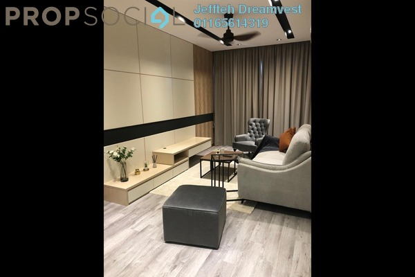 Condominium For Rent in Kiara Residence 2, Bukit Jalil Freehold Fully Furnished 3R/3B 2k