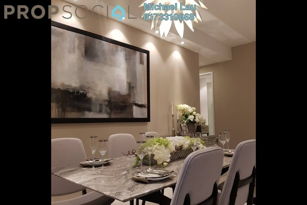 Serviced Residence For Sale in EcoSky Residence, Kuala Lumpur Freehold Fully Furnished 3R/3B 1.34m